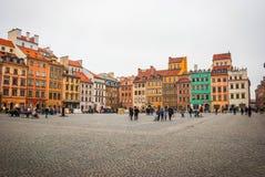 κύρια Πολωνία Βαρσοβία Στοκ φωτογραφίες με δικαίωμα ελεύθερης χρήσης
