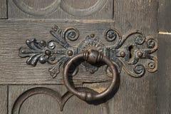 Κύρια πόρτα της εκκλησίας καθεδρικών ναών του ST Giles  Βασιλικό μίλι  Lawnmarket  Στοκ Εικόνες