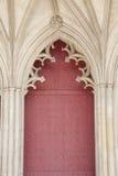 Κύρια πόρτα της εκκλησίας καθεδρικών ναών του Winchester, Αγγλία Στοκ φωτογραφία με δικαίωμα ελεύθερης χρήσης