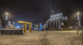 Κύρια πλατεία του Πίλζεν Στοκ εικόνες με δικαίωμα ελεύθερης χρήσης