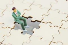 Κύρια στρατηγική σχεδίων του επιτυχούς επιχειρησιακού ηγέτη και της έννοιας ομαδικής εργασίας στοκ εικόνα με δικαίωμα ελεύθερης χρήσης