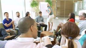 Κύρια σύνοδος 'brainstorming' επιχειρηματιών με τους συναδέλφους φιλμ μικρού μήκους