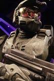Κύριος αριθμός κεριών Chief's Halo's Στοκ εικόνα με δικαίωμα ελεύθερης χρήσης