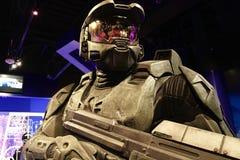 Κύριος αριθμός κεριών Chief's Halo's Στοκ φωτογραφίες με δικαίωμα ελεύθερης χρήσης