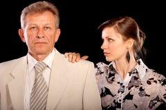 κύριος γραμματέας πορτρέτ&om Στοκ Φωτογραφία