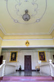 Κύριος διάδρομος στο κτήριο γραφείων στο νοσοκομείο Siriraj Στοκ Φωτογραφία