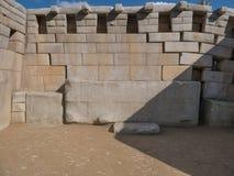 Κύριος ναός στις καταστροφές Machu Picchu, σε Cusco, Περού Στοκ φωτογραφία με δικαίωμα ελεύθερης χρήσης