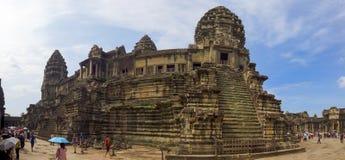 Κύριος ναός του angkor wat στοκ εικόνες