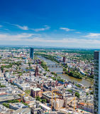 Κύριος ποταμός, Φρανκφούρτη, Γερμανία Στοκ Φωτογραφίες