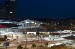 Κύριος σιδηροδρομικός σταθμός της Βιέννης Στοκ Εικόνες