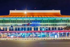Κύριος σταθμός της Ταϊπέι τη νύχτα στοκ εικόνες με δικαίωμα ελεύθερης χρήσης