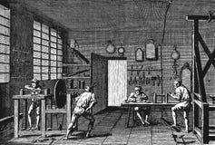 Κύριος της κατασκευής των γυαλιών Στοκ Εικόνα
