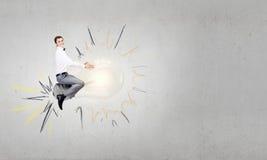 Κύριος των δημιουργικών ιδεών Στοκ εικόνα με δικαίωμα ελεύθερης χρήσης