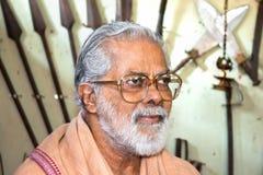 Κύριος Kalarippayat στοκ φωτογραφία με δικαίωμα ελεύθερης χρήσης