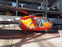 Κύριο άρθρο ένα Μπρίστολ 171 Sycamore HC 14 ελικόπτερο, παλαιά πάλη Στοκ Φωτογραφία