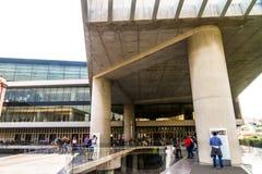 Κύριο άρθρο, είσοδος στο μουσείο ακρόπολη στοκ εικόνα με δικαίωμα ελεύθερης χρήσης