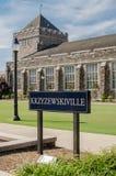 Κύριο άρθρο σημαδιών Krzyzewskiville Στοκ εικόνες με δικαίωμα ελεύθερης χρήσης