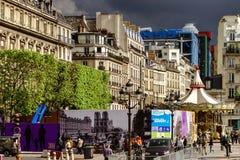 Κύριο άρθρο, στις 13 Μαΐου 2016: Παρίσι, Γαλλία Παραδοσιακό stree του Παρισιού Στοκ εικόνες με δικαίωμα ελεύθερης χρήσης