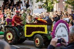 Κύριο άρθρο, στις 4 Οκτωβρίου 2015: Barr, Γαλλία: Fete des Vendanges Στοκ εικόνα με δικαίωμα ελεύθερης χρήσης