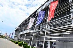 Κύριο βήμα autodrome των Grand Prix του τύπου 1 Στοκ Εικόνα