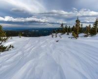 Κύριο βουνό το χειμώνα Στοκ φωτογραφίες με δικαίωμα ελεύθερης χρήσης