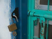 Κύριο κλειδί και βασική κλειδαριά Στοκ φωτογραφία με δικαίωμα ελεύθερης χρήσης
