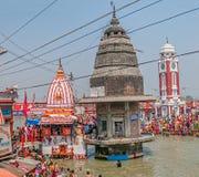 Κύριο λούσιμο Ghat σε Haridwar Στοκ Φωτογραφία