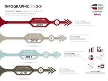 Κύριο σημείο και υπόδειξη ως προς το χρόνο για την επιχειρησιακή παρουσίαση και την επίδειξη φωτογραφικών διαφανειών Στοκ Εικόνες