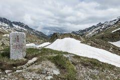 Κύριο σημείο στα όρη Στοκ φωτογραφία με δικαίωμα ελεύθερης χρήσης