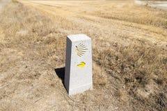 Κύριο σημείο στον τρόπο Αγίου James Στοκ Φωτογραφία