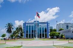 Κύριο τετράγωνο στο αρσενικό Μαλδίβες Στοκ Εικόνες