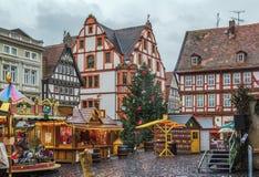 Κύριο τετράγωνο Alsfeld, Γερμανία στοκ φωτογραφία