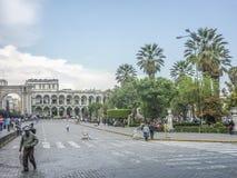 Κύριο τετράγωνο Arequipa Στοκ Εικόνες