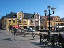 Κύριο τετράγωνο. Linkoping. Σουηδία στοκ εικόνα