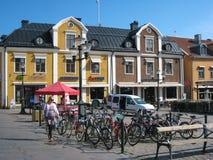 Κύριο τετράγωνο. Linkoping. Σουηδία στοκ φωτογραφία
