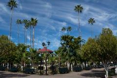 Κύριο plaza Alamos Στοκ Εικόνα
