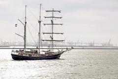 Κύριο sailboat τρία Στοκ φωτογραφία με δικαίωμα ελεύθερης χρήσης