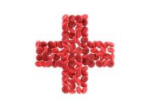 κύτταρα αίματος Στοκ φωτογραφία με δικαίωμα ελεύθερης χρήσης