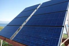 Κύτταρα ηλιακών πλαισίων στοκ εικόνες με δικαίωμα ελεύθερης χρήσης