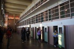 Κύτταρα δ-φραγμών Alcatraz Στοκ εικόνα με δικαίωμα ελεύθερης χρήσης