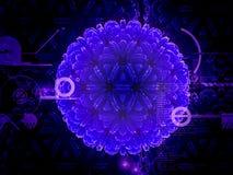 Κύτταρο ιών Στοκ Φωτογραφίες
