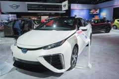 Κύτταρο καυσίμου της Toyota Mirai στοκ φωτογραφίες με δικαίωμα ελεύθερης χρήσης