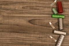 Κύλινδροι και συνδετήρες Στοκ εικόνα με δικαίωμα ελεύθερης χρήσης