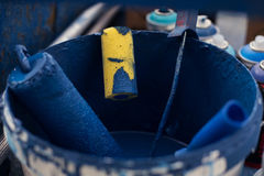 Κύλινδροι στο χρώμα Στοκ φωτογραφία με δικαίωμα ελεύθερης χρήσης