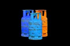 Κύλινδρος αερίου Στοκ φωτογραφία με δικαίωμα ελεύθερης χρήσης