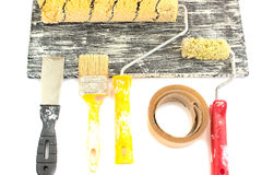 Κύλινδρος και χρώμα Στοκ Εικόνες