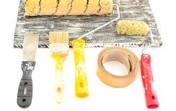 Κύλινδρος και χρώμα Στοκ εικόνα με δικαίωμα ελεύθερης χρήσης