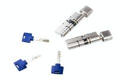 Κύλινδρος κλειδαριών Στοκ εικόνα με δικαίωμα ελεύθερης χρήσης