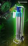 Κύλινδρος οξυγόνου Στοκ Εικόνες
