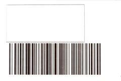 κώδικας ράβδων Στοκ Φωτογραφία
